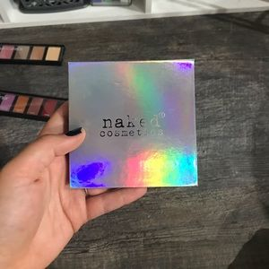 Naked cosmetics holographic palette